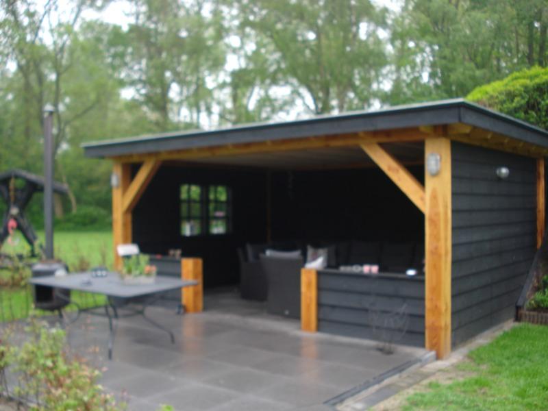 Tuinhuizen op maat bij B de Vries Houthandel in Nijkerk